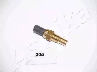 Ashika 64-02-205 - Датчик, температура охлаждающей жидкости www.biturbo.by