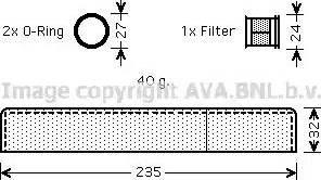 Ava Quality Cooling TOD349 - Осушитель, кондиционер www.biturbo.by