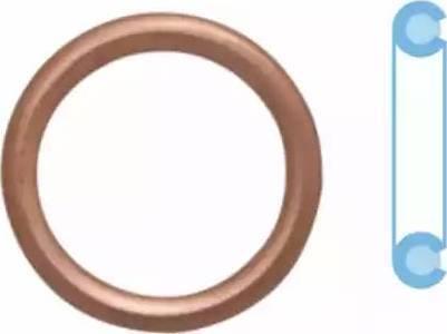 Corteco 402116H - Уплотнительное кольцо, резьбовая пробка маслосливного отверстия www.biturbo.by