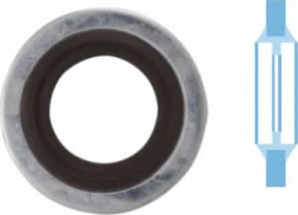 Corteco 006337H - Уплотнительное кольцо, резьбовая пробка маслосливного отверстия www.biturbo.by