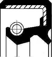 Corteco 19027774B - Уплотняющее кольцо, раздаточная коробка www.biturbo.by