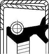 Corteco 12014316B - Уплотняющее кольцо вала, автоматическая коробка передач www.biturbo.by