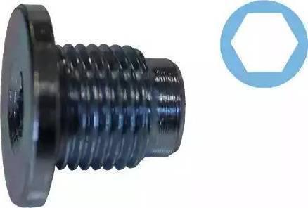 Corteco 407711H - Уплотнительное кольцо, резьбовая пробка маслосливного отверстия www.biturbo.by