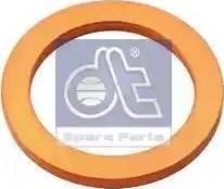 DT Spare Parts 9.01018 - Уплотнительное кольцо, резьбовая пробка маслосливного отверстия www.biturbo.by
