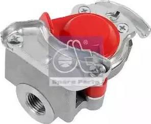 DT Spare Parts 4.60462 - Головка сцепления www.biturbo.by