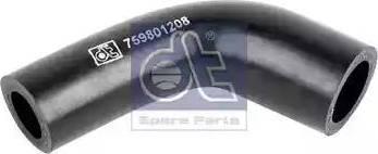 DT Spare Parts 1.19180 - Гидравлический шланг, рулевое управление www.biturbo.by