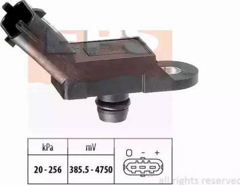 EPS 1.993.055 - Датчик, давление выхлопных газов www.biturbo.by