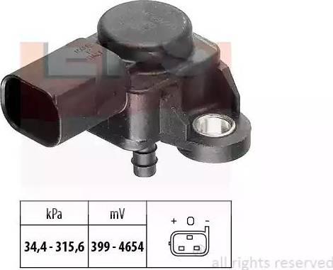EPS 1.993.165 - Датчик, давление выхлопных газов www.biturbo.by
