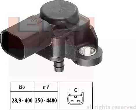 EPS 1.993.175 - Датчик, давление выхлопных газов www.biturbo.by