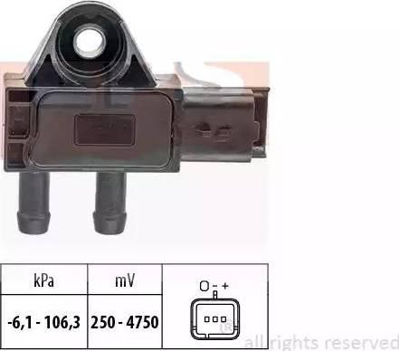 EPS 1993271 - Датчик, давление выхлопных газов www.biturbo.by