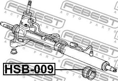 Febest HSB009 - Подвеска, рулевое управление www.biturbo.by