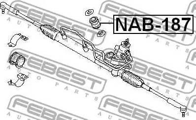 Febest NAB-187 - Подвеска, рулевое управление www.biturbo.by