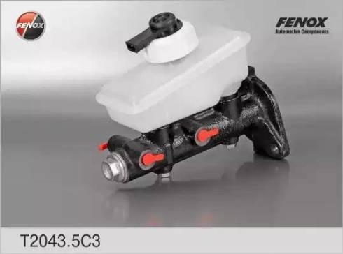 Fenox T20435C3 - Главный тормозной цилиндр www.biturbo.by