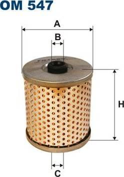 Filtron OM 547 - Фильтр, Гидравлическая система привода рабочего оборудования www.biturbo.by