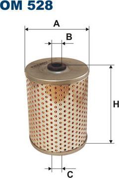 Filtron OM 528 - Фильтр, Гидравлическая система привода рабочего оборудования www.biturbo.by