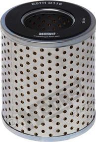 Hengst Filter E57H D116 - Фильтр, Гидравлическая система привода рабочего оборудования www.biturbo.by