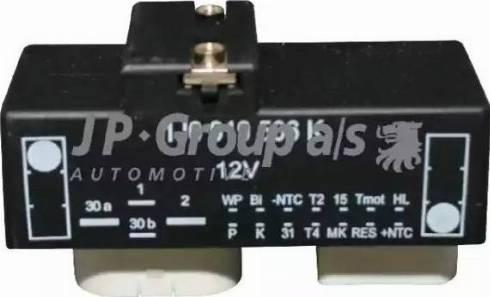 JP Group 1199150100 - Блок управления, эл. вентилятор (охлаждение двигателя) www.biturbo.by