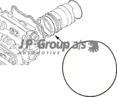JP Group 1111000200 - Прокладка, гильза цилиндра www.biturbo.by