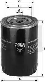 Mann-Filter W 712/4 - Фильтр, Гидравлическая система привода рабочего оборудования www.biturbo.by