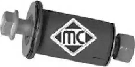Metalcaucho 05037 - Ремкомплект, направляющий, маятниковый рычаг www.biturbo.by