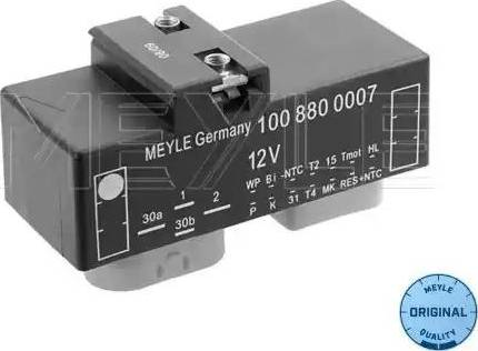 Meyle 100 880 0007 - Блок управления, эл. вентилятор (охлаждение двигателя) www.biturbo.by